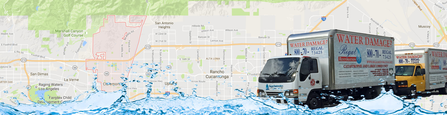 Water Damage Company Claremont, California