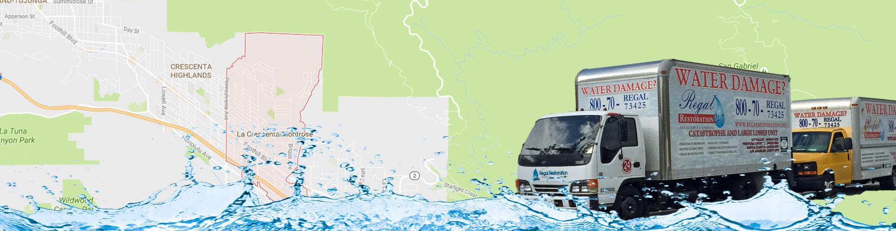 La Crencenta, California Water Damage Services