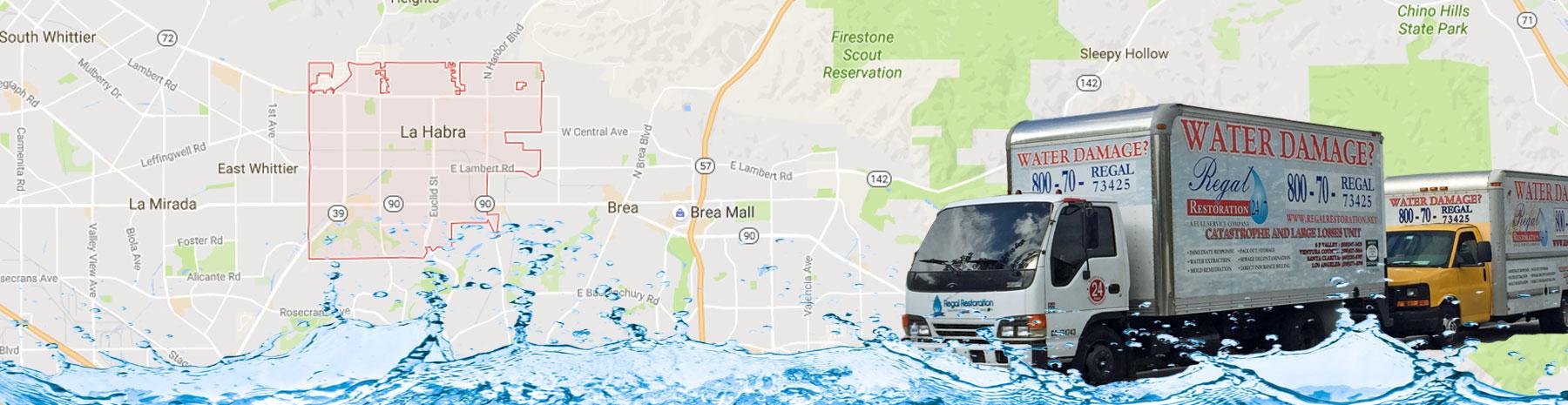 Flood Removal La Habra, California